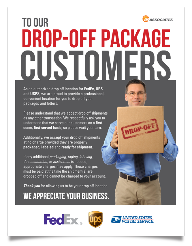 Package Drop-Offs | Paris, TX | Postal Options
